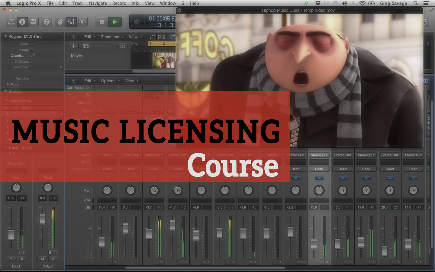 Music Licensing Course: Get Your Existing Tracks Placed In TV/Film